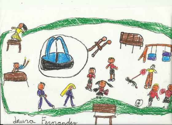 Dibujo Por Temas El Parque 17 Dibujos