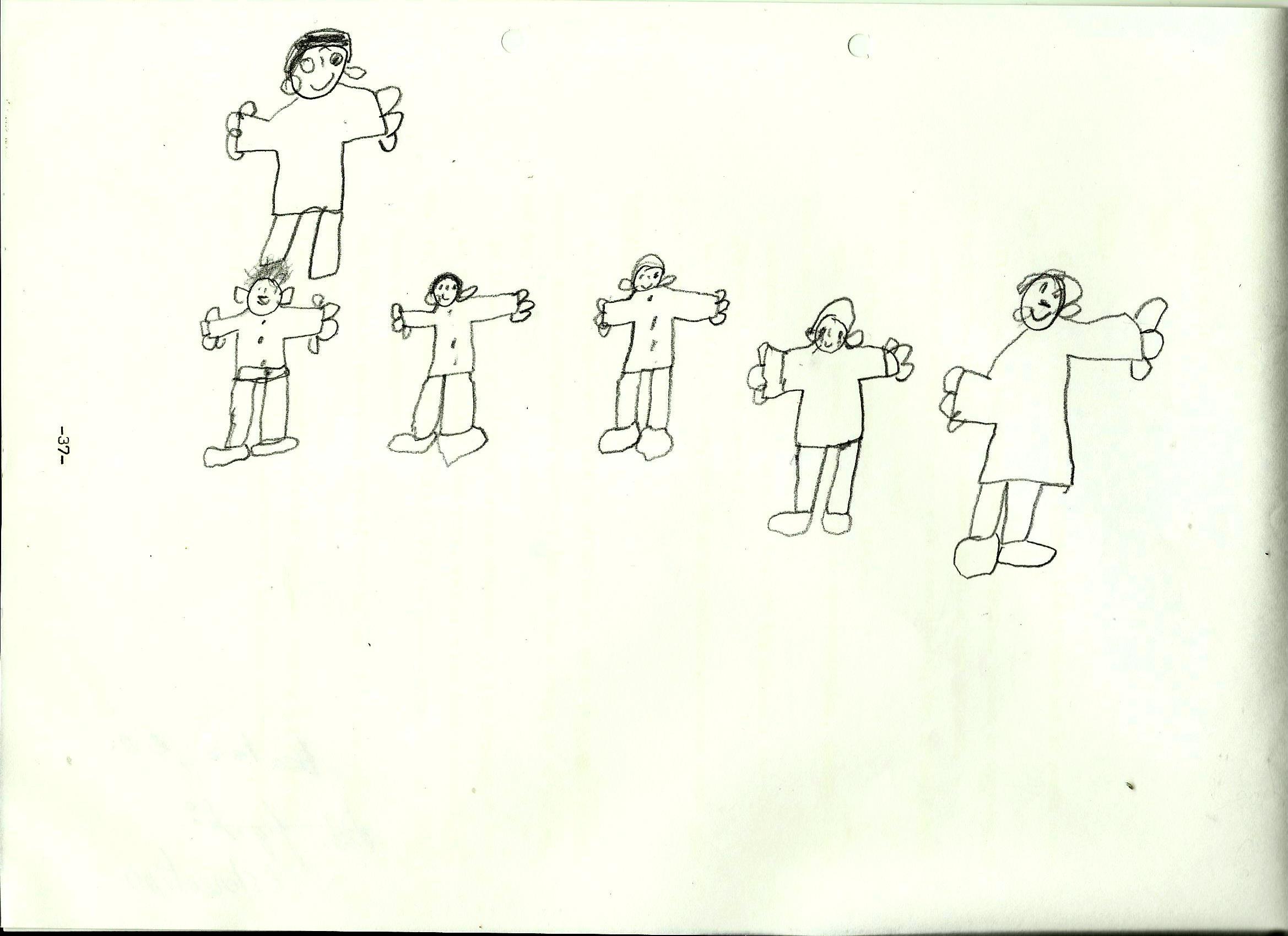 El dibujo estereotipado